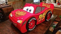 "DIY ""Amazing"" Lightning McQueen Costume"
