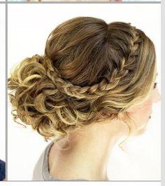 Sports banquet hair?