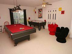 Stylish Game Room Decorating Ideas