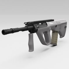 3ds steyr aug a3 - Steyr AUG A3... by 3d_molier
