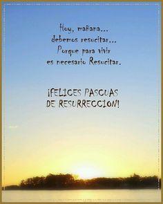 Felices pascuas de resurrección..