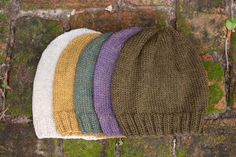 This classic hat is a basic piece suitable for anyone and is lovely in any  color. The pattern is simple and quick and is perfect for beginners.  Classic Knit Hat PDF