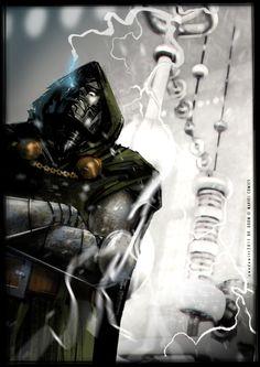 Fantastic Four & Dr Doom