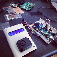 Siren and LCD working, realtime clock working, making good progress :-) #weekendproject #4hackrr #arduinor3 #lcd #siren