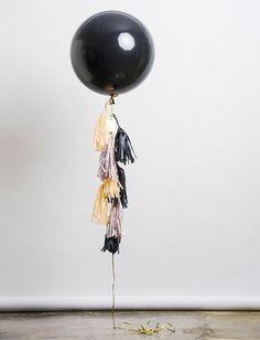 """Caviar Balloon"" by unelefante.mx #bigballoons #balloons #gifts"