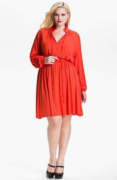 Women 8 colors jersey cottone blend Pally Dress plus (SZ Plus Womens Clothing, Unique Clothes For Women, Curvy Girl Fashion, Plus Fashion, Womens Fashion, Orange Dress Shirt, Shirt Dress, Plus Size Fashionista, Rachel Pally