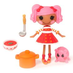 Mini Lalaloopsy - Pepper Pots 'n' Pans - First Edition - Series 2/5