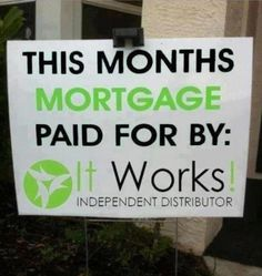"We pay our mortgage with our It Works paycheck! Let us show you how we created a full-time income with this ""Crazy Wrap"" business in just five months. http://www.SexyandSkinnyWraps.com"