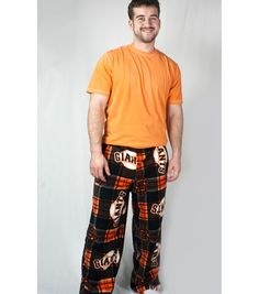 Team Fleece Pajama Pants free sewing pattern