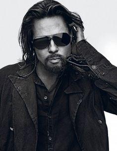 Brad Pitt by Steven Klein