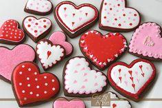 marthastewart.com (great recipes under chocolate roll out cookies, valentine hearts, etc). Super easy glaze.