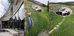 The House Inside a Hill - Villa Vals, Switzerland. The Interior is beautiful as well!