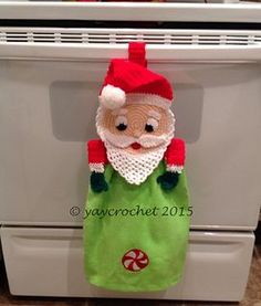 A fun and easy to make towel topper to decorate for the Holidays!