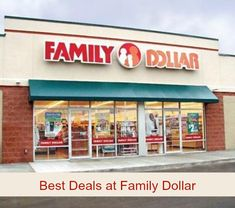 Family Dollar Deals - May 1 - 31