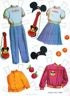 Mouseketeer clothes