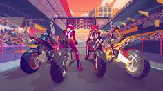Motor Home is a new MTV show which follows the lives of four young moto 3 class riders. In the opener we describe the adrenaline rush which occurs before the start of the race using a style inspired by that of the japan anime. www.ditroit.it  CREDITS - Direction: Ditroit - Art Direction: Salvatore Giunta - Design: Salvatore Giunta, Cristian Acquaro - Modeling: Giovanni Mauro, Daniele Angelozzi - Shading and Lighting: Cristian Acquaro - Rigging: Tommaso Sanguigni - Animation: Cristian Acquaro…