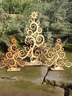 20cm40cm Laser Cut Christmas Tree Decoration by Dreamdayzcreations, £5.49