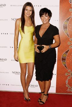 Kendall and Kris Jenner.