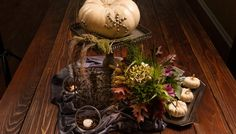 There are other items on the table besides the Turkey this Thanksgiving. Check out these center pieces