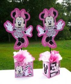 minnie mouse zebra print party supplies - Google Search