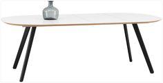 Tables de repas avec allonges, tables design BoConcept va voir le site possible de la personnaliser