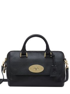 SMALL DEL REY GLOSSY LEATHER BAG