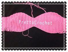 Pretta Crochet: Corset de Crochet Sweet