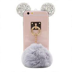 iPhone 6S Case, MC Fashion Handmade Sparkle Bling Bling 3...