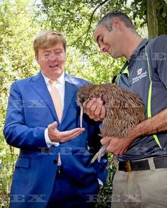 Dutch Royals visit New Zealand - 08 Nov 2016  King Willem-Alexander of The Netherlands visits the Willowbank Wildlife Reserve  8 Nov 2016