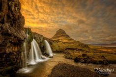 Sunset over Kirjufell. Talk about an Inspirational Photo! There are few places as beautiful as Iceland, and this photo puts that beauty on full display. Between those colors in the sky and the idyllic waterfall, this photo is packed with visual interest.