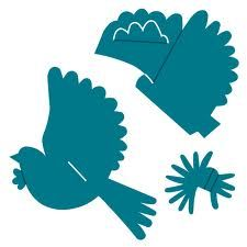 paper bird craft - Google Search