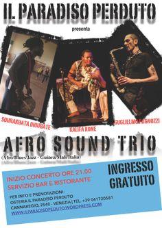 Afrosound Trio - 31 marzo 2014