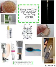 Beautysets - Top 10 Time Savers & Double Duty items