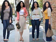 Plus size street style looks http://www.justtrendygirls.com/plus-size-street-style-looks/