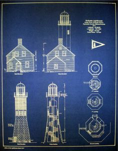 Cape don lighthouse 8x10 architectural blueprint art print cape don lighthouse 8x10 architectural blueprint art print lighthouse elevation beach decor nautical decor australian lighthouse art lighthouse malvernweather Image collections