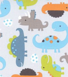 Nursery Fabric- Dinosaurous *No longer available