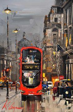 """Pall Mall London"" - by Kal Gajoum"
