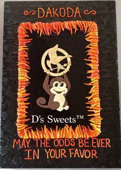 Hunger Games -Dark chocolate ganache covered chocolate chip cookie ...