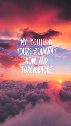 Youth lyrics lockscreen