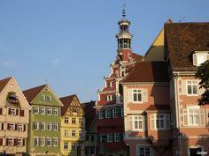 Der Rathausplatz in Esslingen