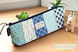 """このたび、ブログ""""うねうねごろごろ""""は、ライブドアブログに引っ越す事となりまし... Zipper Bags, Zipper Pouch, Sewing Tutorials, Sewing Crafts, Crochet Pencil Case, Pencil Boxes, Fabric Bags, Diy Flowers, Small Bags"""
