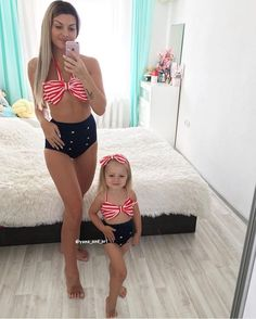 I do this with my 3 little daughters. It's so beautiful except we all dress up in matching lace underwear and bikini top. My girls like g strings just like there mommy Mother Daughter Matching Outfits, Mother Daughter Fashion, Mommy And Me Outfits, Family Outfits, Kids Outfits, Fashion Kids, Future Daughter, My Baby Girl, Baby Dress