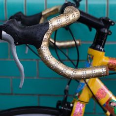Gold handlebar tape ambassador Cycling Accessories f3ba02b3f