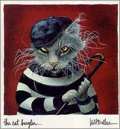 Cat Burglar by Will Bullas