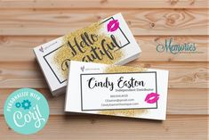 Younique Hello Beautiful Business Card is a great way to show off your business with Younique! Fall Pregnancy Announcement, Rodan And Fields Business, I Sent You, Love Your Skin, Professional Makeup Artist, Chalkboard Signs, Hello Beautiful, Marketing Materials, Younique