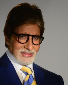 """Amitabh Bachchan; To call him an actor would be the understatement of the millenium. I grew up doting on this idol, mesmerized by his screen presence and watched in awe as he demolished traditional restrictions that boud filmdom and branched out into TV and now social media with great gusto. This man redefined the word """"personality"""". When Amitabh addresses his audience his voice is sheer magic. Four decades in the limelight, and going strong. Jai ho Amit! Tussi great ho!"""