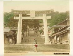 Osuwa Buddhist temple in Nagasaki - a day to remember the bigger picture during the Meiji Period. Life Is Like, What Is Life About, Show Photos, Old Photos, Outside World, Nagasaki, Buddhist Temple, Japanese Culture, Vintage Images