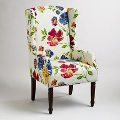 The classic gets a colorful, contemporary update with pronounced wings and a rich tangerine hue on the Anthropologie Howell Wingback Chair ($1,898). Description from pinterest.com. I searched for this on bing.com/images