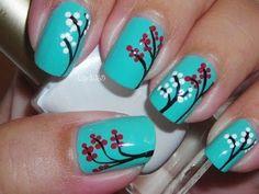 Nail Art - Choose Joy (Requested) - Decoracion de uñas