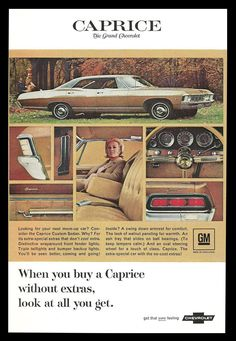 """The very popular Camrao A favorite for car collectors. The Muscle Car History Back in the and the American car manufacturers diversified their automobile lines with high performance vehicles which came to be known as """"Muscle Cars. Chevrolet Caprice, Chevrolet Impala, Chevy Impala, Chevrolet Auto, Pub Vintage, Vintage Trucks, Chevy Classic, Classic Cars, Classic Auto"""